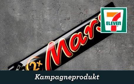 Mars King Size hos 7-Eleven