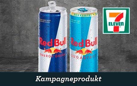Red Bull hos 7-Eleven DK Gift Card