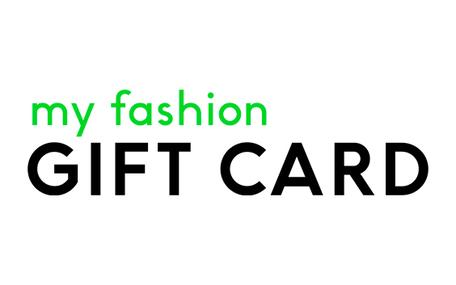 My Fashion Gift Card Gavekort