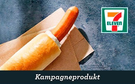 Fransk Hotdog hos 7-Eleven