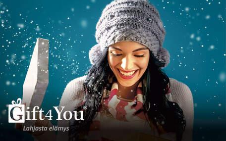 Gift4You Elämykset 75 EUR avoin lahjakortti