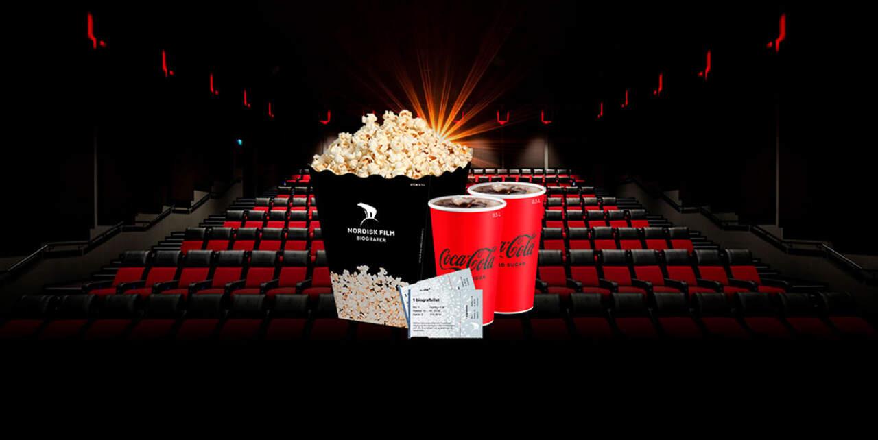 Cinema tour for 2 people