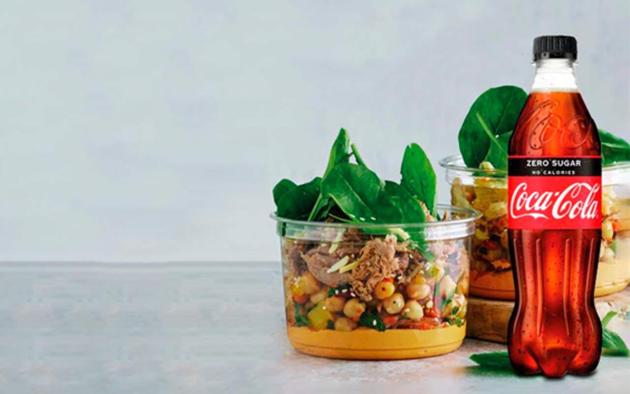 Lille Pastasalat eller Proteinsalat inkl 50 cl. sodavand hos 7-Eleven