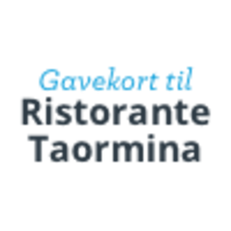 Ristorante Taormina Gavekort produktlogo
