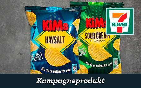 Kim's Chips hos 7-Eleven DK Gift Card