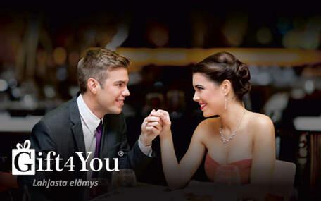 Gift4You Romanttinen illallinen kahdelle