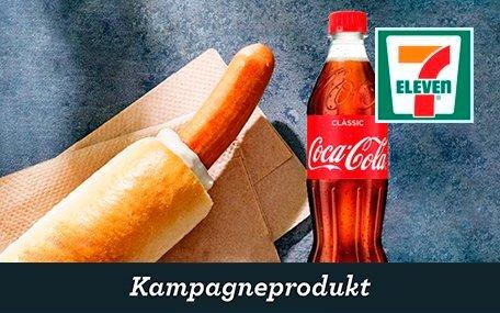 Fransk Hotdog og 50 cl. Sodavand hos 7-Eleven DK Gift Card