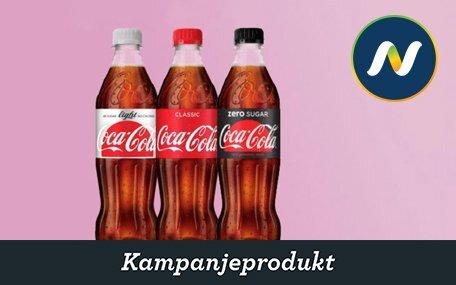 Coca-Cola hos Narvesen