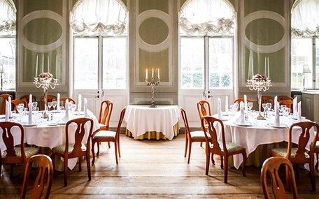 Danske Slotshoteller, Gourmetophold 1 nat i Hovedbygning