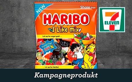 Haribo Pose hos 7-eleven DK Gift Card