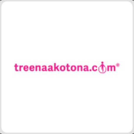 Treenaakotona.com Lahjakortti product logo