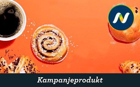 Kaffe & Bakervare hos Narvesen
