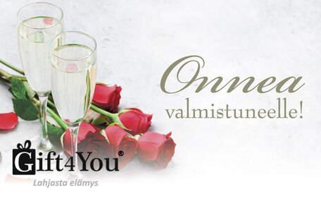 Gift4You Onnea valmistuvalle