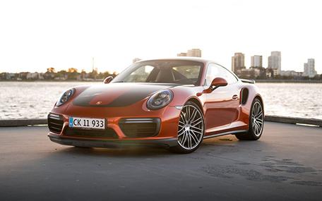 Kør Porsche 911 Turbo Gavekort
