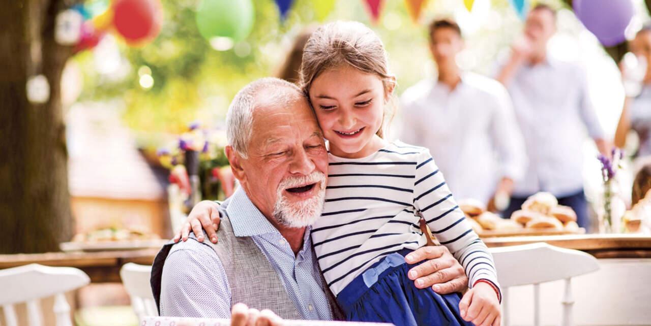 Gave til bedsteforældrene