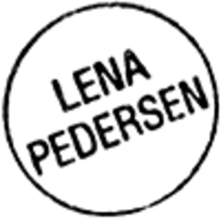 Lena Pedersen, Glas & Porcelæn Gavekort produktlogo