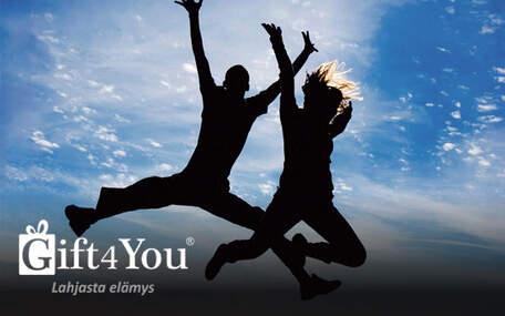 Gift4You Toiminta- ja seikkailuelämys kahdelle Lahjakortti