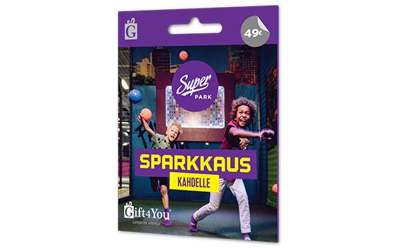 Gift4You SuperPark - Sparkkaus Kahdelle Lahjakortti